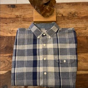 🍁🍂J. Crew Men's Long Sleeve Woven Shirt🍂🍁